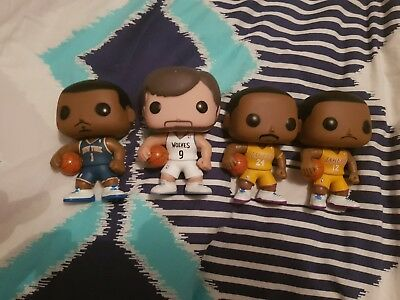 rare nba funko pop vinyl kobe byrant lot