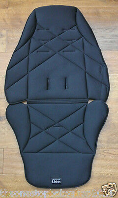 Mamas and Papas URBO URBO2 BLACK SEAT COVER Sola MTX Glide Zoom Pixo Tayo NEW