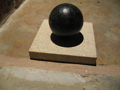 Small Cannon Ball Antique Collectible Royal Navy Dockyard Portsmouth Plymouth