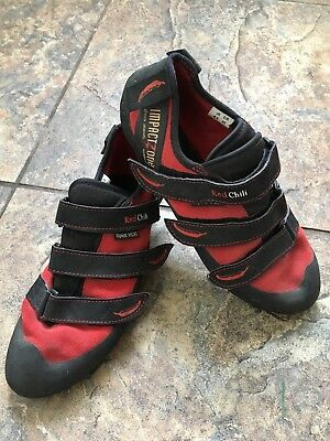 Red Chilli Ladies Climbing Shoes Size UK 6