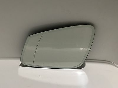 BMW 5 6 7 F01 F10 F07 F11 F12 F13 F18 Auto DIM HEATED MIRROR GLASS LEFT GENUINE