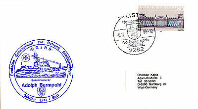 1986 German Lifeboat Adolph Bermpohl Cached Cover