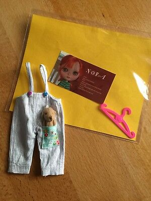 Blythe Dungarees By Nora Hola