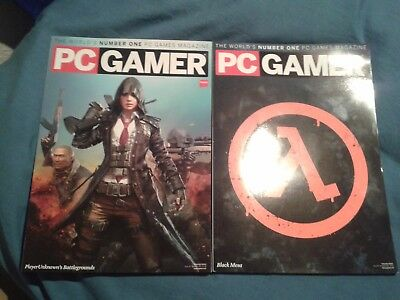 PC Gamer Magazine Issues 310 & 311 latest issues