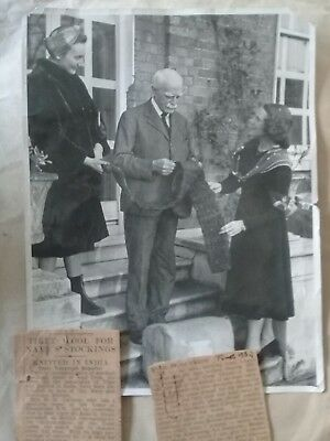 Extremely Rare  Historical Photo of Sir Basil Gould 1940s 21.5cm x 16.5xcm