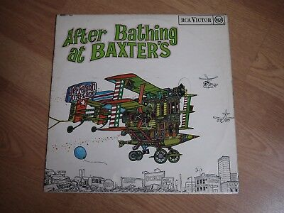 JEFFERSON AIRPLANE After Bathing at Baxter's UK 1st Press SF 7296 VG Cond. Psych