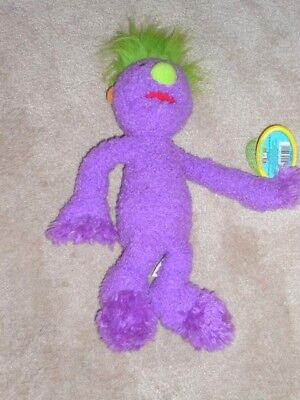 Bnwt Tomy Iver Hoob Plush Soft Toy - Jim Henson's The Hoobs