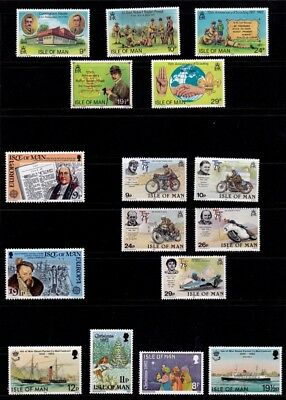 IoM 1982 Commemoratives Collection, MNH
