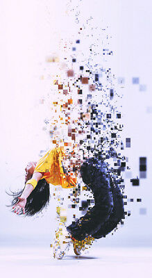 """Pixelated Photoshop Action (PS CS3-CC) """"Download Delivery"""""""