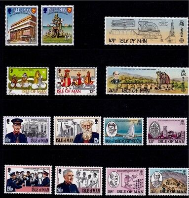 IoM 1983 Commemoratives Collection, MNH