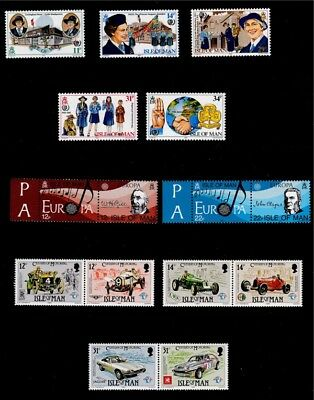 IoM 1985 Commemoratives Collection, MNH