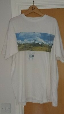 Barclay James Harvest 1990 European Tour Tee T Shirt Extra Large Xl Welcome Show