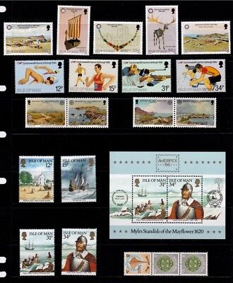 IoM 1986 Commemoratives Collection, MNH