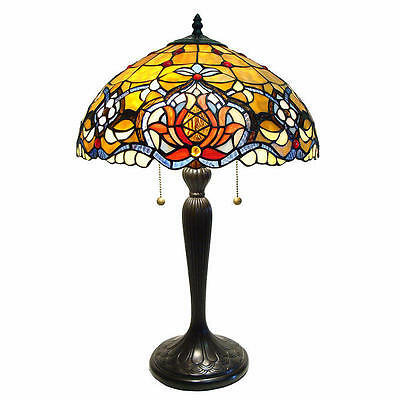 Reproduction Tiffany Style Harbour Table Lamp