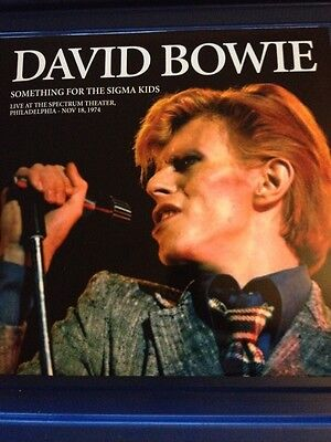 David Bowie - Rare Limited Double Vinyl Lp - Something For The Sigma Kids - 1974