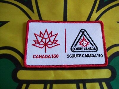 Scouts Canada Badge/Patch Canada 150 Scouts 110