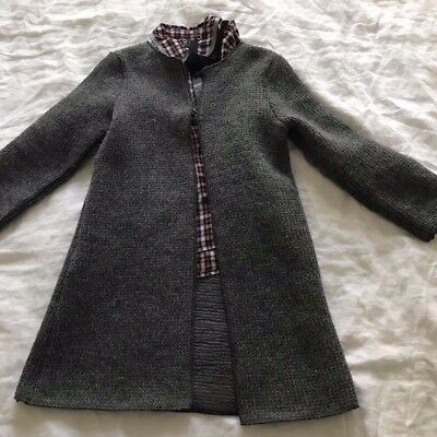 Girls Age 6-7 Years Of Age Cardigan / Jacket And Shirt All Next