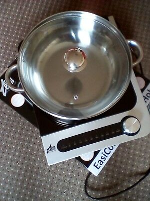 Easicook Induction Cooking Hob.(www.teamuki.com) 2100W max power at 240V