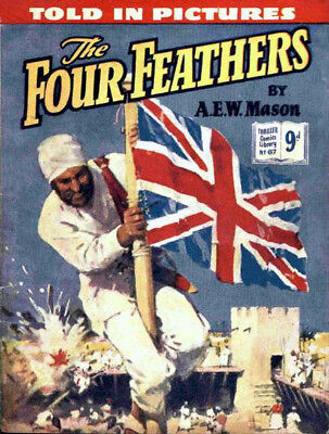 THRILLER COMICS / PICTURE LIBRARY No.67 - THE FOUR FEATHERS -  Facsimile Comic