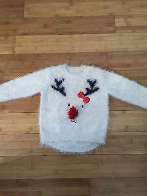 Girls Christmas Jumper Age 2-3 Years
