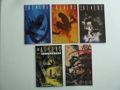 5 x Dark Horse Comics - Aliens - From 1989, 1990