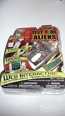 Electronic Test Tube Aliens DODEC Web Interactive New Hatch Feed Grow New Sealed