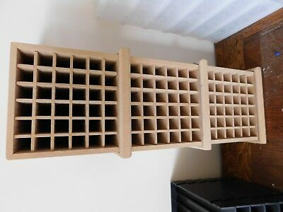 MDF pen storage - can be in 3 part or one tall unit - suits promakers ect