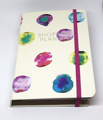 Paperchase Shopping Planner A6 With Pen And Notepad