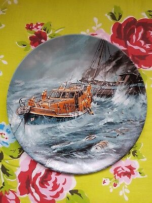 rare minerva ware china royal national lifeboat institution rnli limited plate.