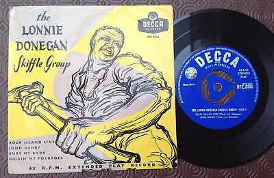 LONNIE DONEGAN SKIFFLE GROUP 'The Lonnie Donegan Skiffle Group' Decca Tri EP