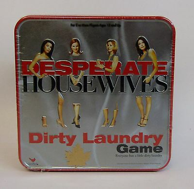 Desperate Housewives * Dirty Laundry Game * Collector Tin * NOS * Factory Sealed