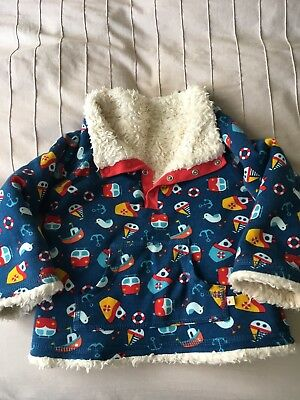 Frugi Boys Fleece 12-18 Months