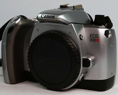 Vintage Canon EOX 300V Body Only, Strap & Manual. Working.