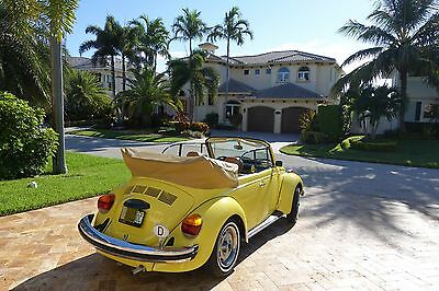 1979 Volkswagen Beetle - Classic karmann 1979 VOLKSWAGEM SUPER BEETLE CONVERTIBLE IMMACULATE CONDITIONS