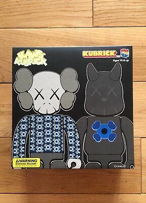 Medicom X Kaws Bus Stop Set 2 Kubrick New Mint Condition Companion Dissected