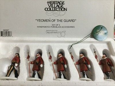 "Dept 56 - ""yeomen Of The Guard"