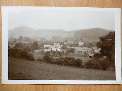 Skenfrith Real Photo Postcard 1934