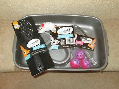 Kitten Tray set, Armitage pet care, NEW, Plus cat toy and brush