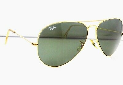 90's Ray Ban Aviator Large Metal II 62mm, L2846 & Case