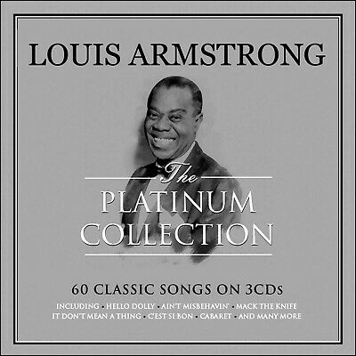 LOUIS ARMSTRONG  *60 Greatest Hits  *Original Songs * 3 CD BOXSET * NEW & SEALED