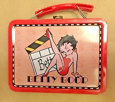 "Betty Boop ~ Miniature Lunch Box ~ Measures 5 1/2"" X 2 1/2~Mint Condition~Used"
