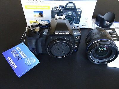 Olympus e600 SLR Camera Kit with ZUIKO DIGITAL 14-42mm Boxed Excellent condition