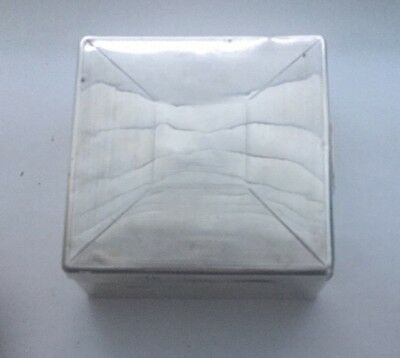Vintage Collectible Solid Silver Hallmarked Cigarette Box - Trinket Box 1937-38