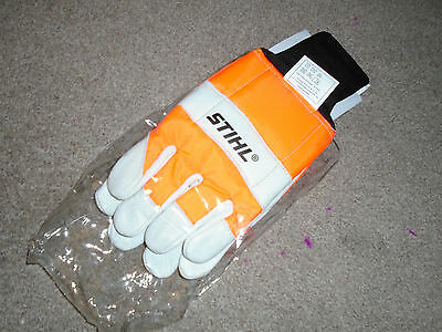 stihl chainsaw safety gloves size large  part number 00008831510 fab gift idea