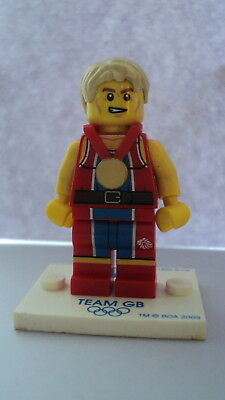 Genuine Lego CMF Collectable Minifigures Team GB Wondrous Weightlifter Figure