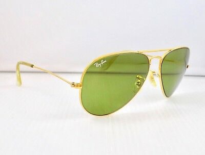 90's Ray Ban Aviator, RB-3, 58mm Lens, L0556 & Case