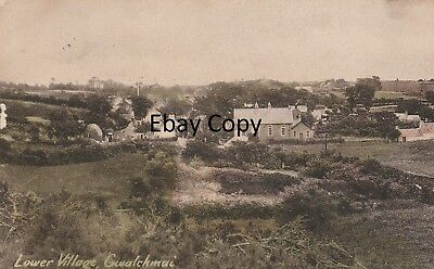 Lower Village Gwalchmai. Anglesey.post dated 1935 from Gwalchmai Valley