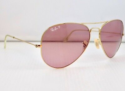 Ray Ban Polarised Large Aviator Special Series RB3025 001/15 62mm & Case