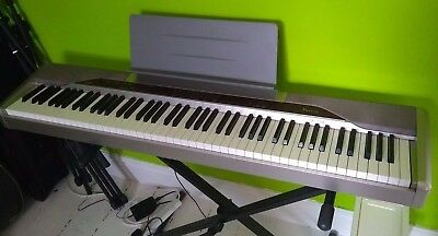 casio privia px 110 88 key digital piano with weighted keys good condition picclick uk. Black Bedroom Furniture Sets. Home Design Ideas