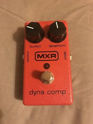 MXR Dyna Comp Guitar Effects Pedal M102  - Used with box and manual